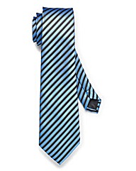 Kensington Blue Stripe XL Tie