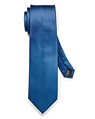 Kensington Plain Blue XL Tie
