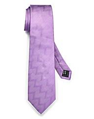 Kensington Lilac Herringbone Tie