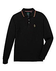 Luke Sport Stripe Collar LS Polo Long