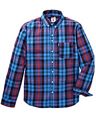 Lambretta Check Shirt Long