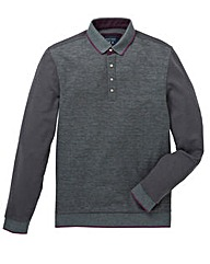 Mish Mash Long Sleeved Kenedy Polo Reg