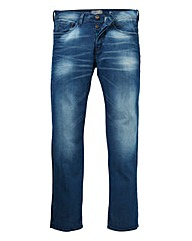 VOI ANDERSON MID WSH STRAIGHT JEAN 31 IN