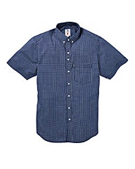 LAMBRETTA MINI GRID CHECK SHIRT REG