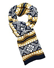 Williams & Brown Fairisle Scarf