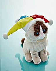 Grumpy Cat Jester Plush