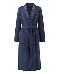 Miliarosa Fleece Wrap Gown L48