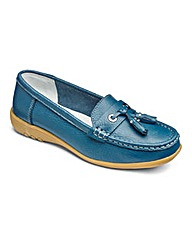 Cushion Walk Leather Loafers EEE Fit
