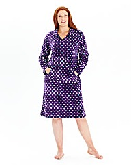 Pretty Secrets Microfleece Nightshirt