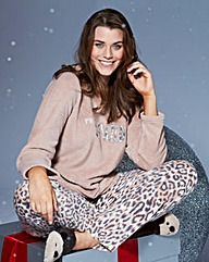 Pretty Secrets So Wild Fleece Pyjamas