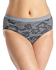 Naturally Close Pack 3 Jacquard Briefs