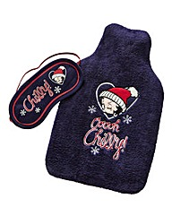 Betty Boop Hot Water Bottle and Eye Mask