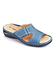 Cushion Walk Open Toe Mules EEEEE Fit