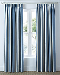 Clevedon Stripe Pencil Pleat Curtains