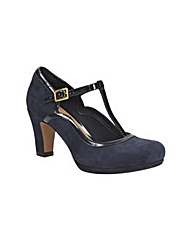 Clarks Womens Chorus Tempo Wide Fit