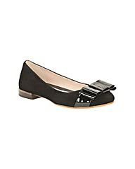 Clarks Womens Festival Game Wide Fit