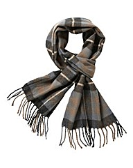 WILLIAMS & BROWN Check Scarf