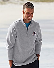 WILLIAMS & BROWN 1/4 Zip Tracktop