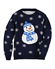 KD EDGE Snowman Jumper (8-13 years)