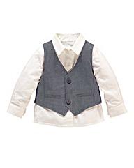 KD BABY Waistcoat and Shirt Set