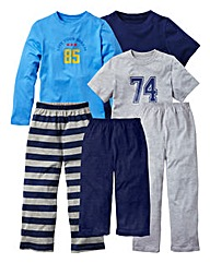 KD EDGE Pack of 6 PJ