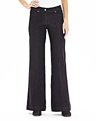 Simply Be Pixie Wide Leg Jeans Reg