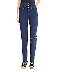 Simply Be Peaches Slim Leg Jeans Long
