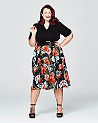 Scarlett & Jo Pussybow Tufa Dress