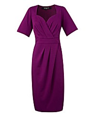 Scarlett & Jo Sweetheart Wrap Dress