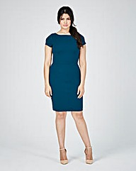 Closet Textured Fitted Dress