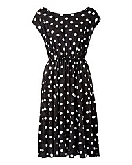Scarlett & Jo Viscose Spot Dress