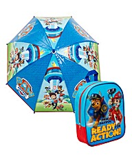 Paw Patrol Lenticular Backpack and Umbre