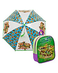 TMNT Lenticular Backpack and Umbrella