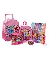 Disney Princess 5 Piece Luggage Set