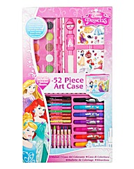 Disney Princess 52 Piece Art Case