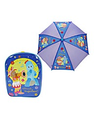 In The Night Garden Backpack & Umbrella