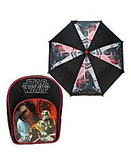 Star Wars EVII Backpack & Umbrella