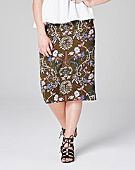 Alice & You by Glamorous Midi Skirt