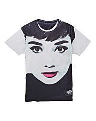 Audrey Lipstick Tshirt