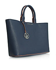 Armani Jeans Emmy Tote Blue