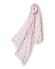 Pia Rossini Flamingo Scarf