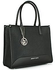 Armani Jeans Cate Black Tote Bag