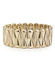 Mood Gold fan stretch bracelet