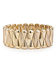 Mood Gold fan stretch bracelet