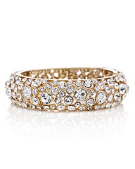 Mood Crystal cluster set stretch bangle