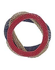 Mood Mesh colour bracelet set