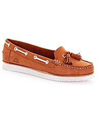 Chatham Jessa Tassel Boat Shoes