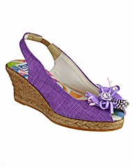 Riva Cruz Fabric Womens Shoes