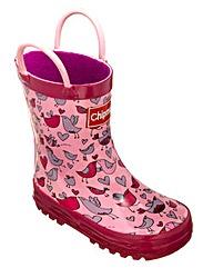 Chipmunks Boston rain boot