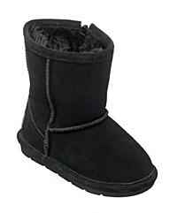 Chipmunks Black Suede  Boot